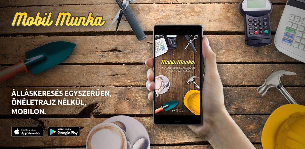 önéletrajz nélküli állások Mobil Munka   Profession.hu önéletrajz nélküli állások